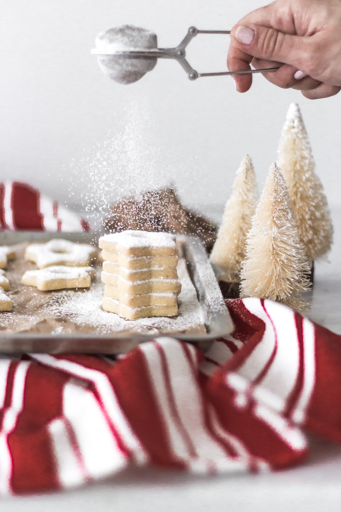 Galletas shortbread navideñas