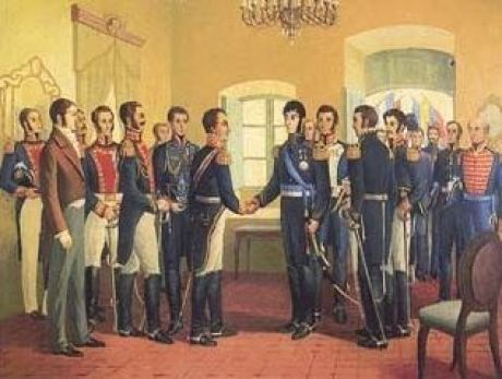Se firma el Acta de Independencia de México