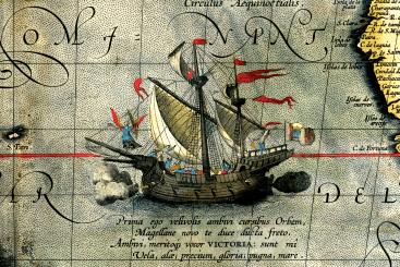 20 septiembre 1519 zarpa de Sanlúcar la expedición que dará la primera vuelta al mundo