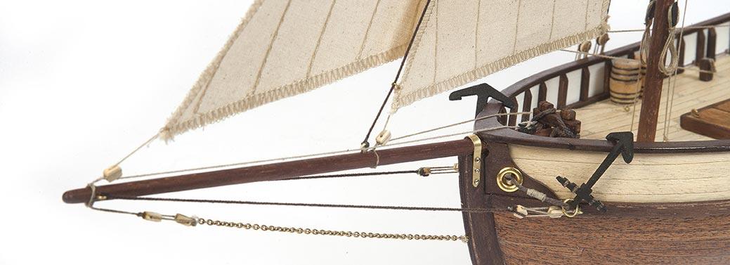 Consigue las maquetas de barcos para principiantes, de marca Occre
