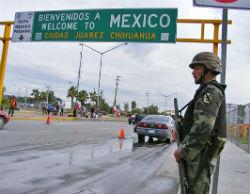 La frontera México-Estados Unidos es una zona roja de la violencia