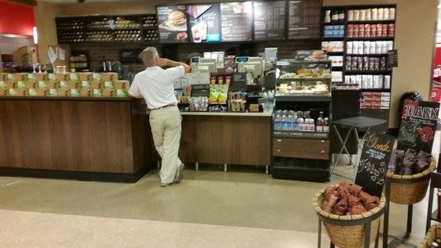 Starbucks en target