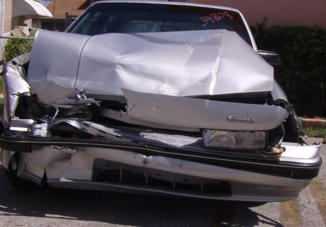 Carro Accidente