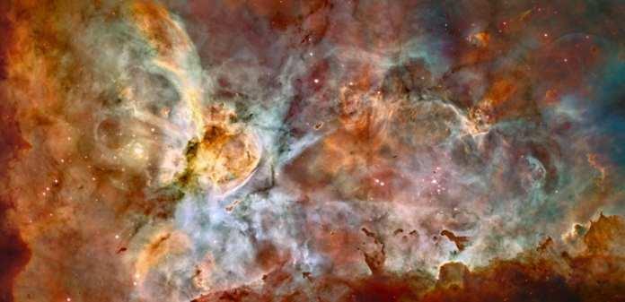 La Nebulosa Carina, una región de formación estelar en la Vía Láctea, es uno de los cuatro objetivos que los científicos planean estudiar con ASTHROS, la misión en globo aerostático a gran altitud. ASTHROS estudiará la retroalimentación estelar en esta región, el proceso por el cual las estrellas influyen en la formación de estrellas en su entorno. Crédito: NASA, ESA, N. Smith (Universidad de California, Berkeley) et al., equipo del Legado del Hubble (STScI/AURA).