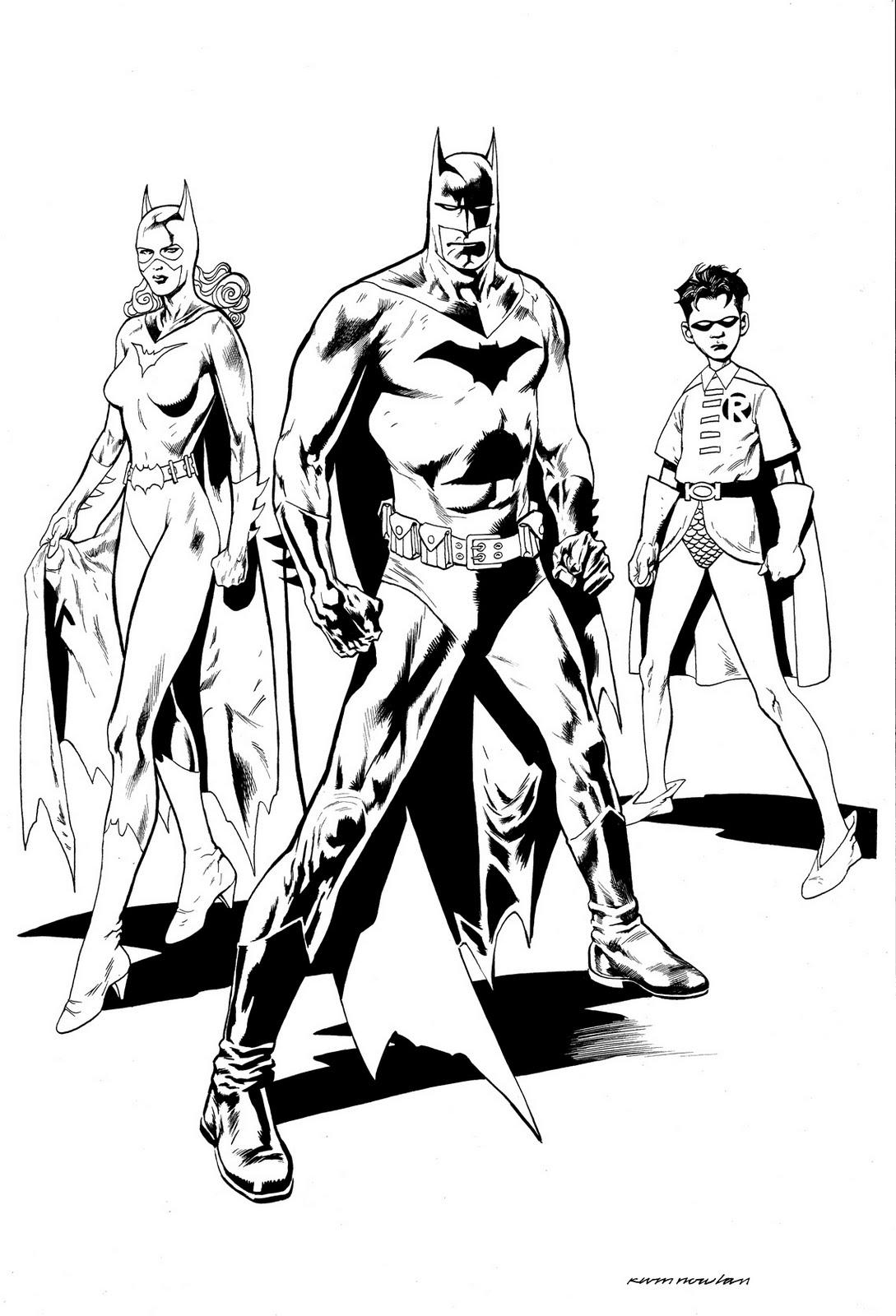 310 Dibujos De Batman Para Colorear