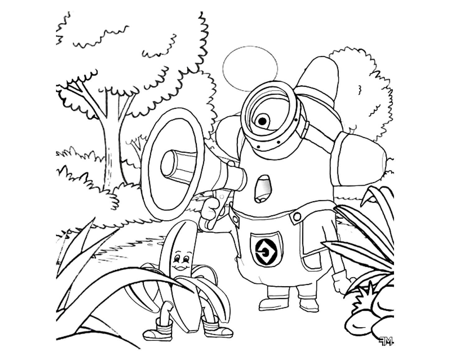 100 Dibujos De Minions Para Colorear Oh Kids Page 8