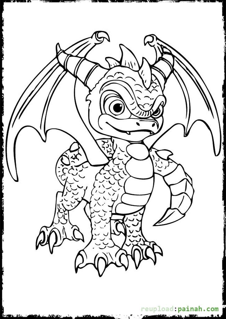 29 dibujos de spyro para colorear  oh kids  page 2