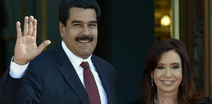Maduro y Kirchner