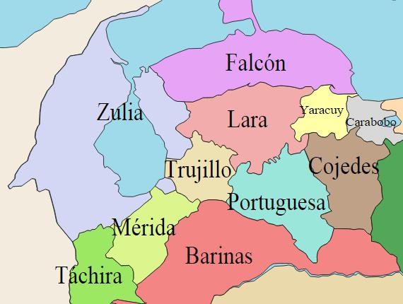 División_ Político-Territorial _Venezuela