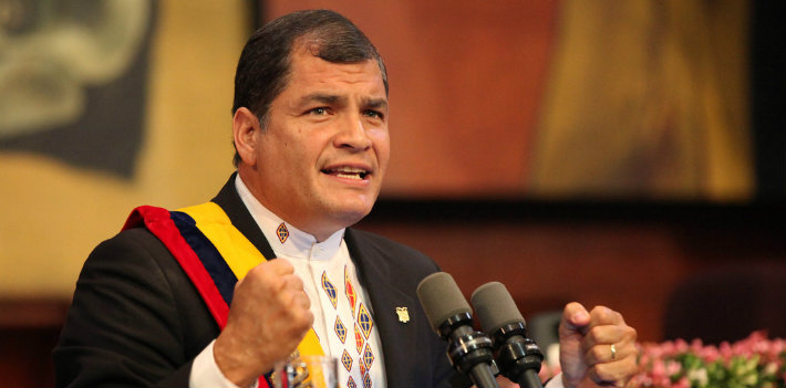 Ecuador Reelection Correa Featured