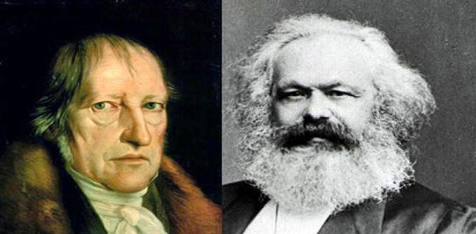Resultado de imagen para marx Hegel