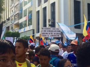 Miles de guayaquileños manifestaron por un Ecuador más libre. (PanAm Post)