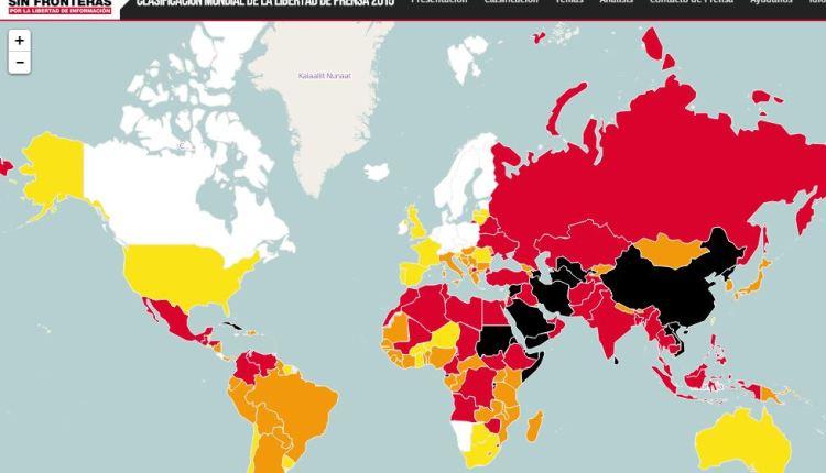 Mapa RSF