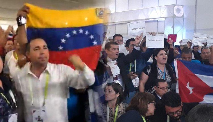 Protesta OEA