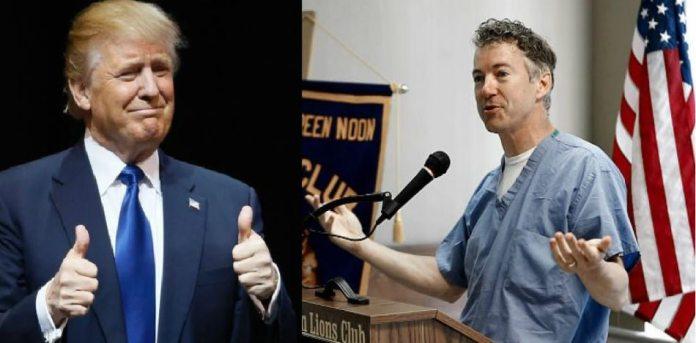 Senador republicano, médico de profesión, promueve reforma de salud que Trump respalda. (FotoMontaje)