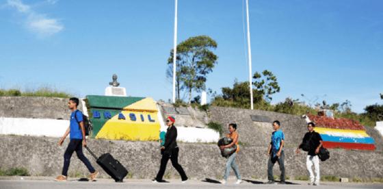 Brasil se perfila como primera opción de salida para refugiados venezolanos