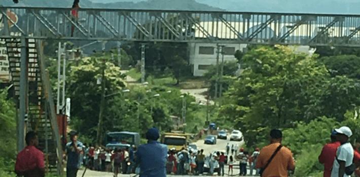 cadáveres- pasarela Venezuela