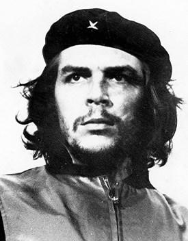El famoso y replicado retrato de Ernesto Che Guevara.