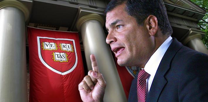 Correa en Harvard
