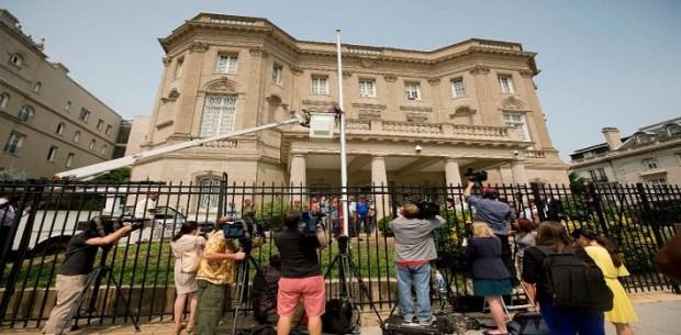 Se espera que en cualquier momento sea inaugurada oficialmente la embajada de Cuba en la capital estadounidense. (Ilvecchioeilmare.blogspot.it)