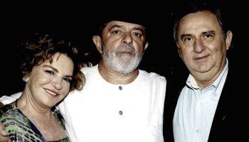 Marisa, Lula da Silva y José Carlos Bumlai