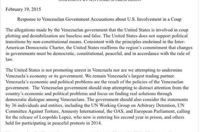 response-state-department-venezuela