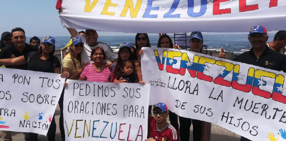 venezolanos - papa