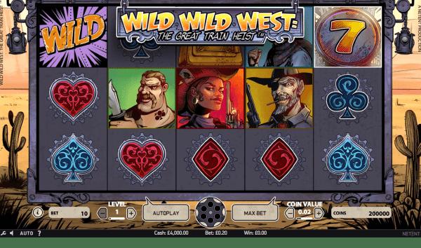 Jugar Tragamonedas - Wild Wild West: The Great Train Heist ...