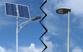 solar led light vs conventional light - Blog Energía Solar