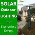 lowcost - Alumbrado público solar para una escuela primaria en la ciudad de Jinhua
