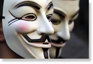 Anonymous bloquea Departamento de Justicia