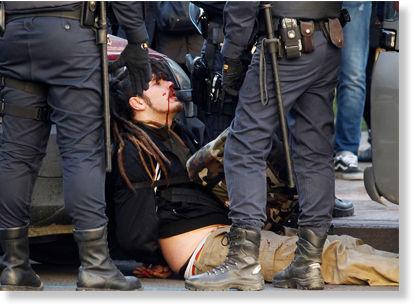 Protesta estudiantes Valencia1