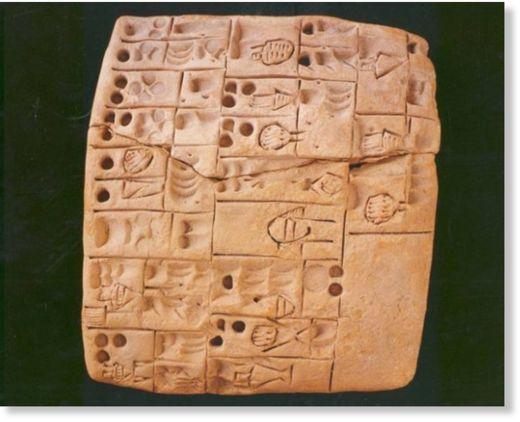 Tablilla de Mesopotamia