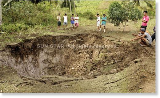 Cráter en Filipinas