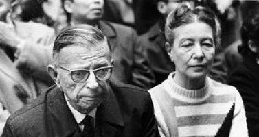 Jean-Paul Sartre and Simone de Beauvoir