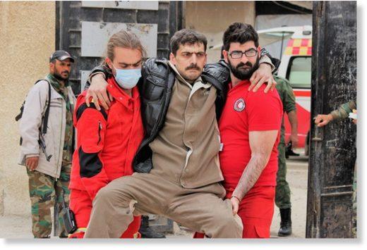 ghouta injured civilian