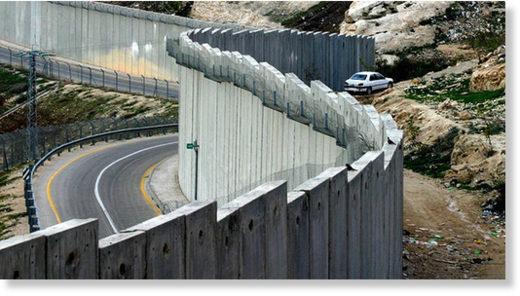 Palestine border fence