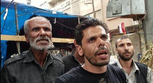 residents duma syria fake chemical attack