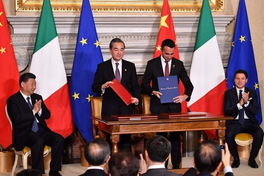 jinping italy