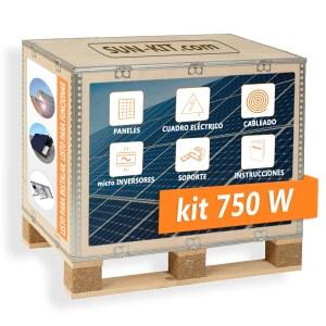2 paneles sin batería para tejado micro-inversores