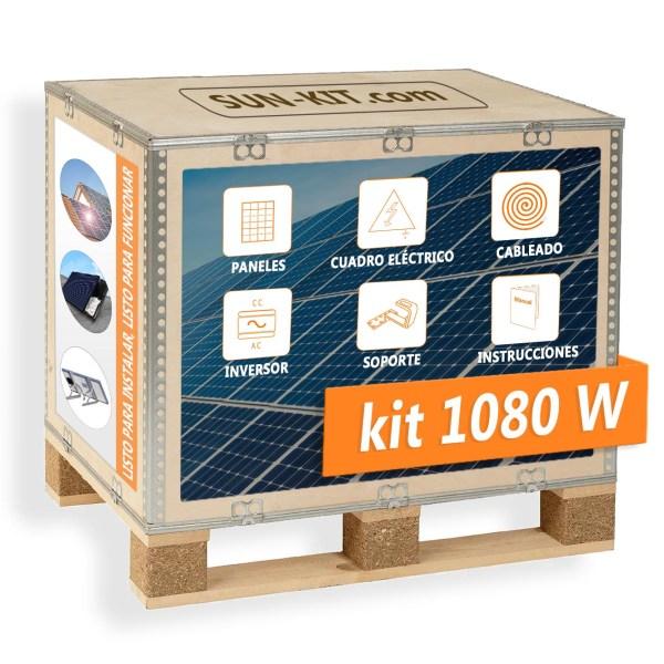 4 paneles ECO sin batería para tejado