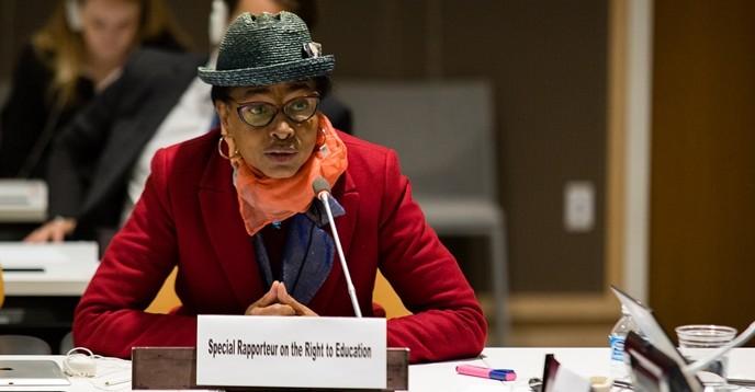 7 preguntas a la Relatora especial de las Naciones Unidas sobre el derecho a la educación