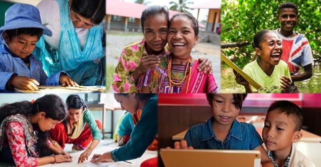 Galardonados con los premios de educación de la UNESCO en 2018