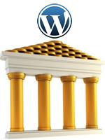 Pilares, Fundamento, Base Blog, WordPress