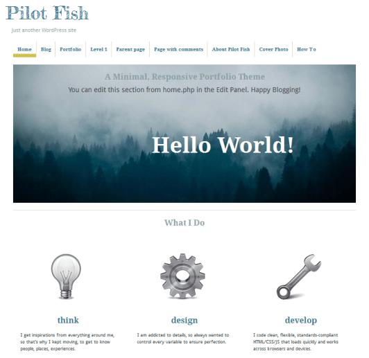 pilot fish theme