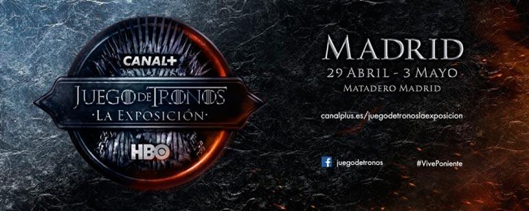 Cartel promocional de Juego de Tronos, La Exposición