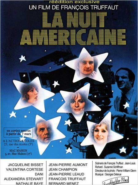 La noche americana : Cartel François Truffaut