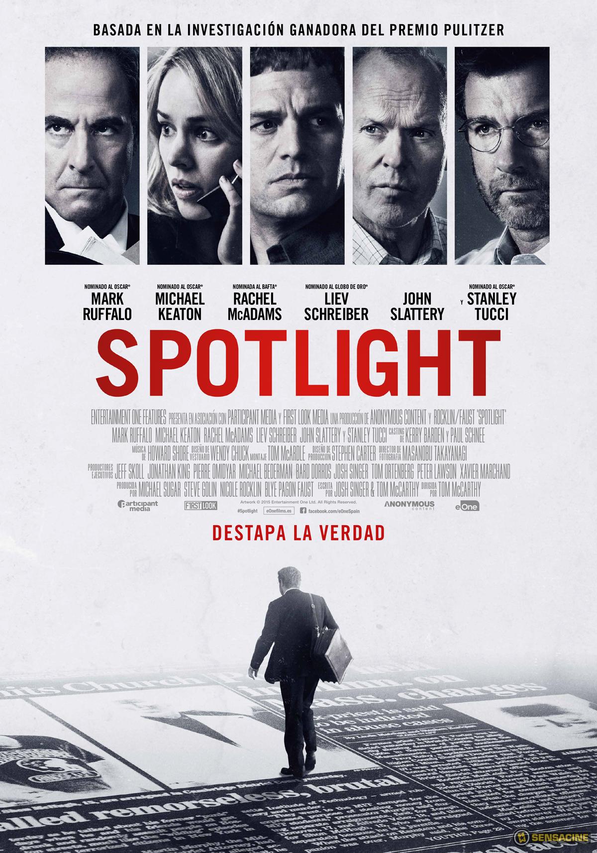 Resultado de imagen de Spotlight