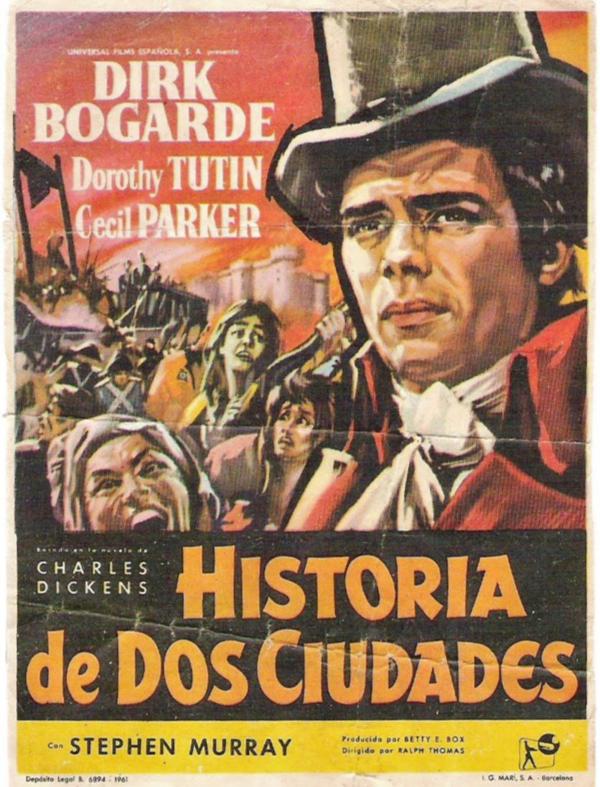 Historia de dos ciudades - Película 1958 - SensaCine.com