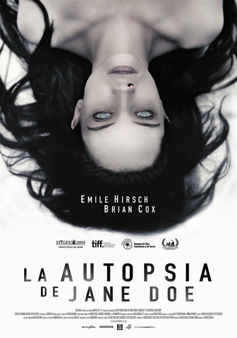 La autopsia de Jane Doe - Cartel